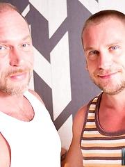 Randy Harden and Hans Berlin