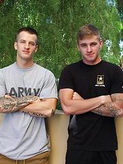 Quentin Gainz and Ryan Jordan