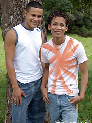 These two tribal twinks are fucking hard