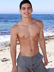 Half Brazilian and half Colombian boy Nicolas
