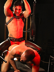 Come watch them play dirty with each other in their leather pants.