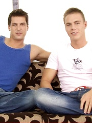 Peter Flemming and BelAmi legend Brandon Manilow