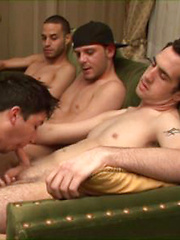 Logan heads to Providence to suck some hot cock on some hot guys