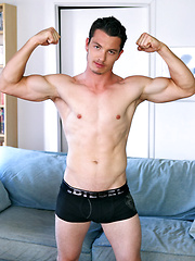 Nick Lablanc shows his ass