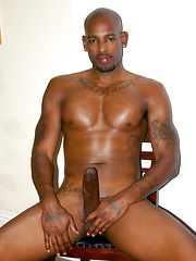 Flash Brown Unleashes Big Cock