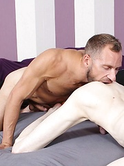 Canadian Hunk Misha Dante Can't Get Enough Of Aaron Aurora's Twink Ass