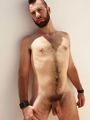 Bottom-boy Dominik August is primed for his hot nude photo shoot