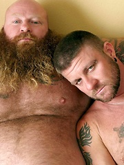 Daddy/Son Roleplaying, Bareback Flip Fuckers Christian Matthews and Rusty G
