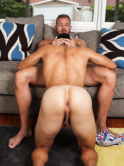 Austin Wolf fucks straight boy Angel Santiago