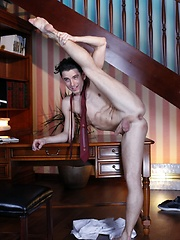 Work Loses Out To Fun, But Johny Cruz's Hungry Twink Ass Gets Rigorously Banged As A Result!