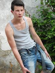 Cute Teen Boy Benjamin Daniels