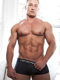 gay model Alexander Volkov